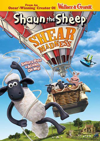 Shaun the Sheep - Shear Madness DVD Movie