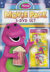 Barney Movie Pack - Jungle Friends / Animal ABCs / Let s Go On Vacation