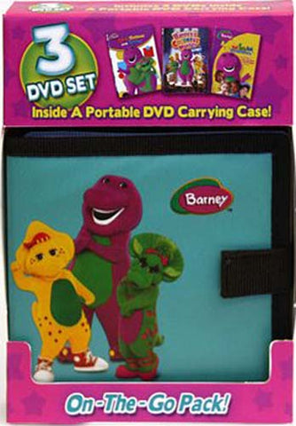 Barney: On-The-Go Pack (Three-Disc Edition) (Boxset) DVD Movie