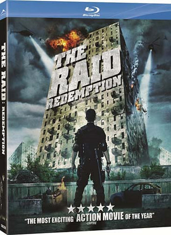 The Raid Redemption (Blu-ray) BLU-RAY Movie
