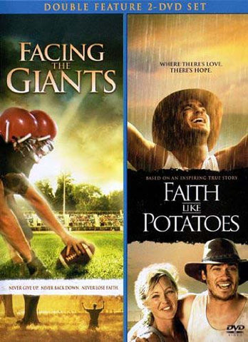 Facing The Giants / Faith Like Potatoes DVD Movie
