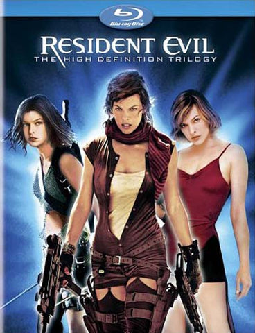 Resident Evil - The High-Definition Trilogy (Blu-ray) BLU-RAY Movie