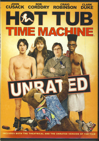 Hot Tub Time Machine DVD Movie