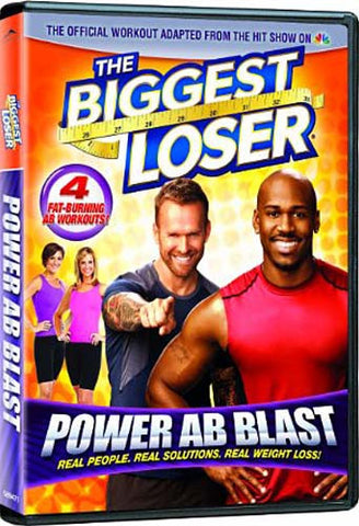 The Biggest Loser - Power Ab Blast DVD Movie