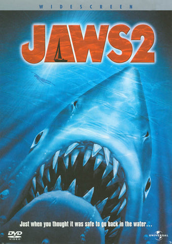 Jaws 2 DVD Movie