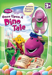 Barney - Once Upon a Dino Tale (Boxset) Includes barney Plush!
