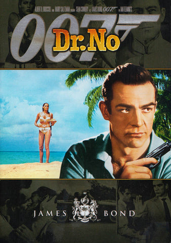 Dr. No (Black Cover) (James Bond) DVD Movie