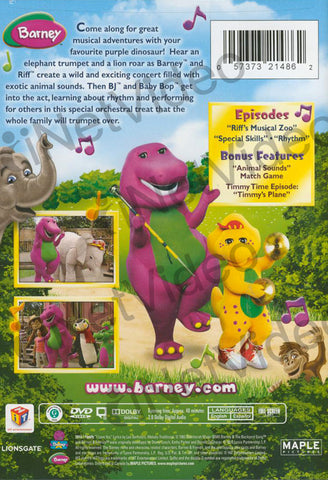 Barney: Musical Zoo DVD Movie