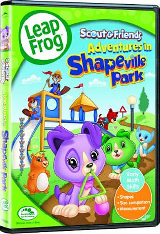 Leap Frog Adventures in Shapeville DVD Movie