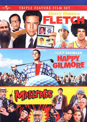 Fletch / Happy Gilmore / Mallrats (Triple Feature) DVD Movie