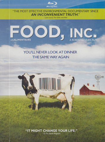Food, Inc. (Eco Friendly Packaging) (Blu-ray) (Bilingual) BLU-RAY Movie