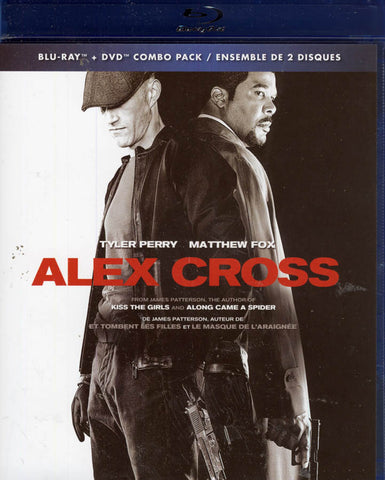Alex Cross (Blu-ray + DVD Combo Pack) (Bilingual) (Blu-ray) BLU-RAY Movie
