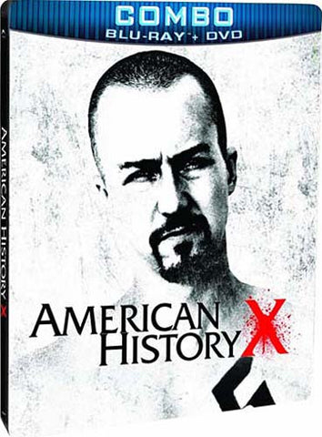 American History X (Combo Blu-ray + DVD Steelbook Case) (Blu-ray) BLU-RAY Movie