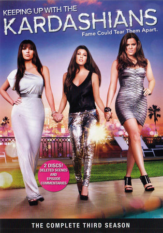 Keeping Up with the Kardashians - The Complete Third Season (3rd) (ALL) DVD Movie