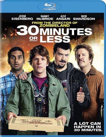 30 Minutes or Less (Blu-ray) BLU-RAY Movie