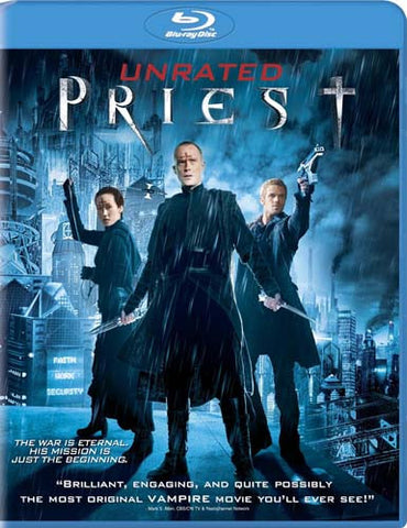 Priest (Unrated Version)(Blu-ray) BLU-RAY Movie