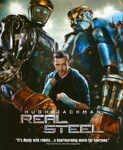 Real Steel (Blu-ray) BLU-RAY Movie