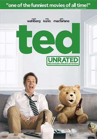 Ted (Unrated) DVD Movie