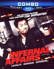 Infernal Affairs (DVD+Blu-ray Combo) (Bilingual) (Blu-ray)
