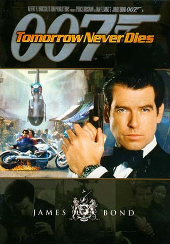 Tomorrow Never Dies (Black cover) (James Bond) DVD Movie