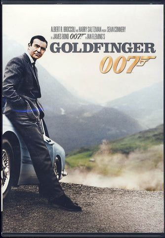 Goldfinger (James Bond) DVD Movie