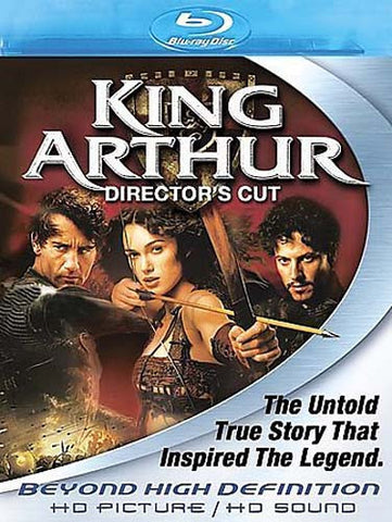 KING ARTHUR (Director's Cut) (Blu-ray) BLU-RAY Movie