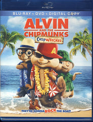 Alvin and the Chipmunks 3 - Chipwrecked (Blu-ray/DVD/Digital Copy) (Blu-ray)