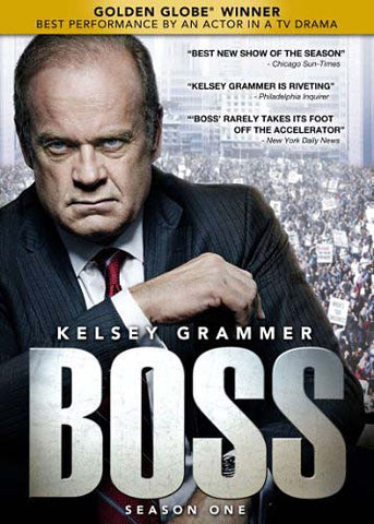 Boss - Season 1 DVD Movie