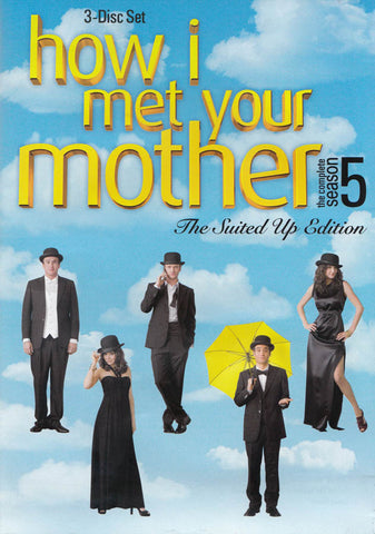 How I Met Your Mother - The Complete Season 5 - The Suited Up Edition DVD Movie