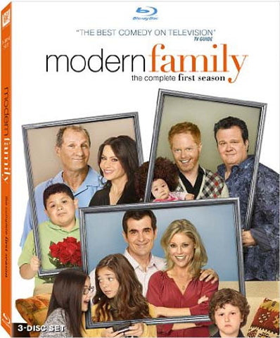 Modern Family - The Complete First Season (Blu-ray) BLU-RAY Movie