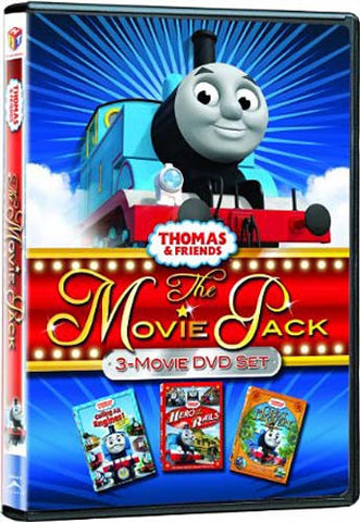 Thomas & Friends - Movie Pack (Calling All Engines/Hero of the Rails/The Great Discovery)(Boxset) DVD Movie