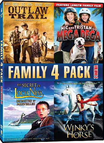 Family 4 Pack Volume 2 DVD Movie
