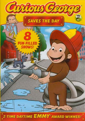 Curious George: Saves the Day DVD Movie