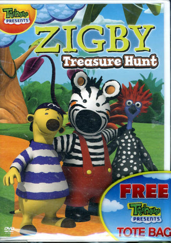 Zigby: Treasure Hunt (Boxset) DVD Movie