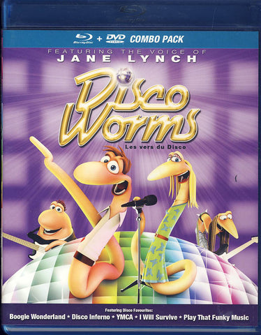 Disco Worms (Blu-ray+DVD combo) (Bilingual) (Blu-ray) BLU-RAY Movie