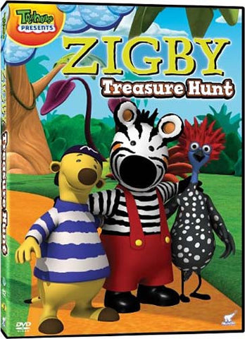 Zigby Treasure Hunt DVD Movie