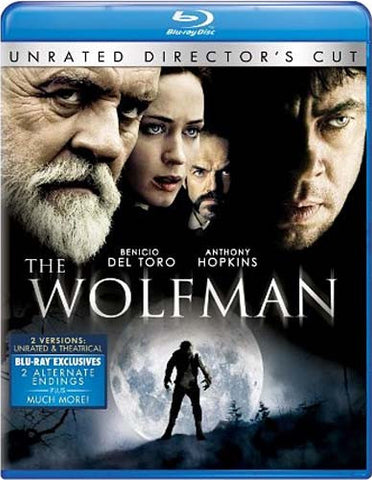 The Wolfman (Two-Disc Unrated Director's Cut) (Blu-ray) BLU-RAY Movie