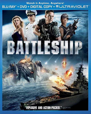 Battleship (Two-Disc Combo Pack: Blu-ray + DVD + Digital Copy + UltraViolet) (Blu-ray) BLU-RAY Movie