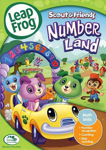 Leap Frog - Numberland DVD Movie