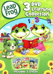 Leap Frog - 3 DVD Learning Collection (Keepcase)