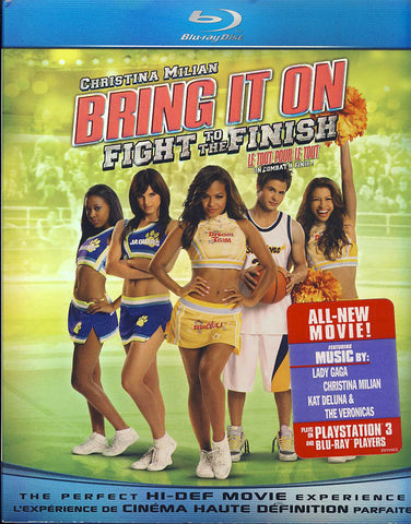 Bring It On: Fight to the Finish (Bilingual) (Blu-ray) BLU-RAY Movie
