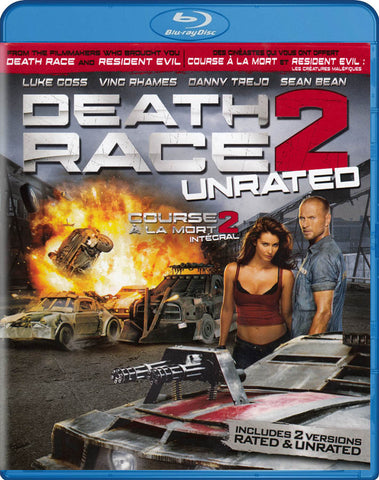 Death Race 2 (Blu-ray / DVD / Digital Copy) (Unrated) (Blu-ray) (Bilingual) BLU-RAY Movie