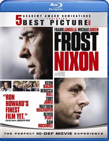 Frost/Nixon (Bilingual) (Blu-ray) BLU-RAY Movie