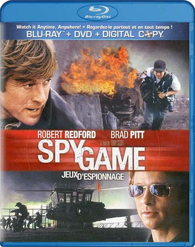 Spy Game (Blu-ray/DVD Combo + Digital Copy) (Bilingual) (Blu-ray) BLU-RAY Movie