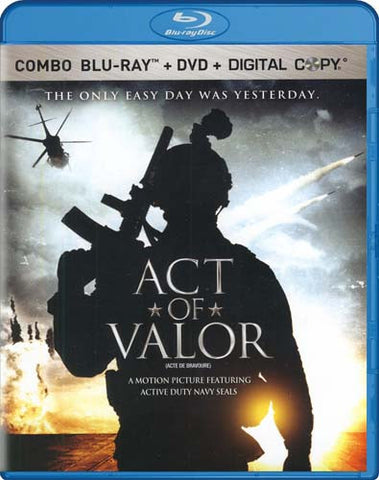 Act Of Valor (DVD+Blu-ray+Digital Combo)(Bilingual) (Blu-ray) BLU-RAY Movie