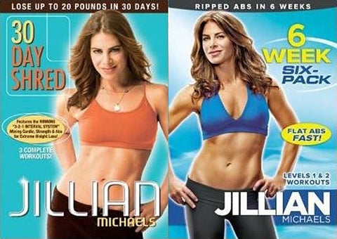 Jillian Michaels (30 Day Shred / 6 Week Six-Pack) (2-pack) DVD Movie