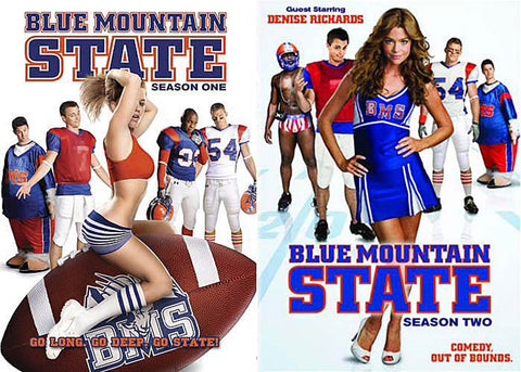 Blue Mountain State Season One/ Season Two (2 pack) (Boxset) DVD Movie