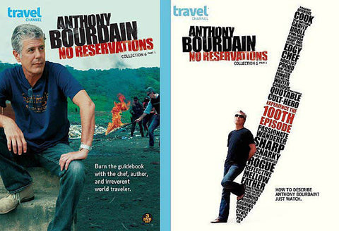 Anthony Bourdain: No Reservation Collection 6 Part 1 / 6 Part 2 (2 Pack) (Boxset) DVD Movie