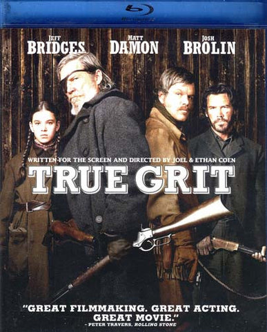 True Grit (DVD+Blu-ray Combo) (Blu-ray) BLU-RAY Movie