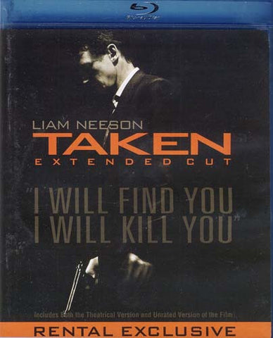 Taken (Extended Cut) (Blu-ray) BLU-RAY Movie